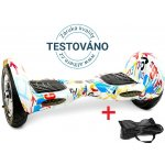 Hoverboard EcoWheel Offroad 10″ s bluetooth – crazy návod a manuál