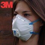 3M Respirator 8822 FFP2 s výdechovým ventilem návod a manuál