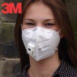 3M respirator 9502V+ s výdechovým ventilem FFP2 návod a manuál