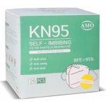 Sunway respirátor FFP2 / KN95 bílá 20ks návod a manuál