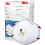3M 8833+ respirátor znovupoužitelný FFP3 R D 10ks návod a manuál
