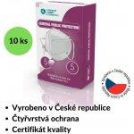 General Public Protection respirátor FFP3 NR 10 ks návod a manuál