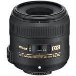 Nikon 40mm f/2,8G ED AF-S DX MICRO návod a manuál