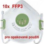 Oxyline respirátor X 310 SV FFP3 R D 10ks návod a manuál