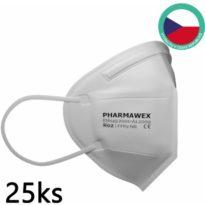 PHARMAWEX R02 s výdechovým ventilem 25 kusů návod a manuál