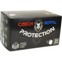 Czech Royal Protection respirátor FFP2 10 ks návod a manuál