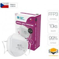 General Public Protection respirátor FFP3 10 ks návod a manuál